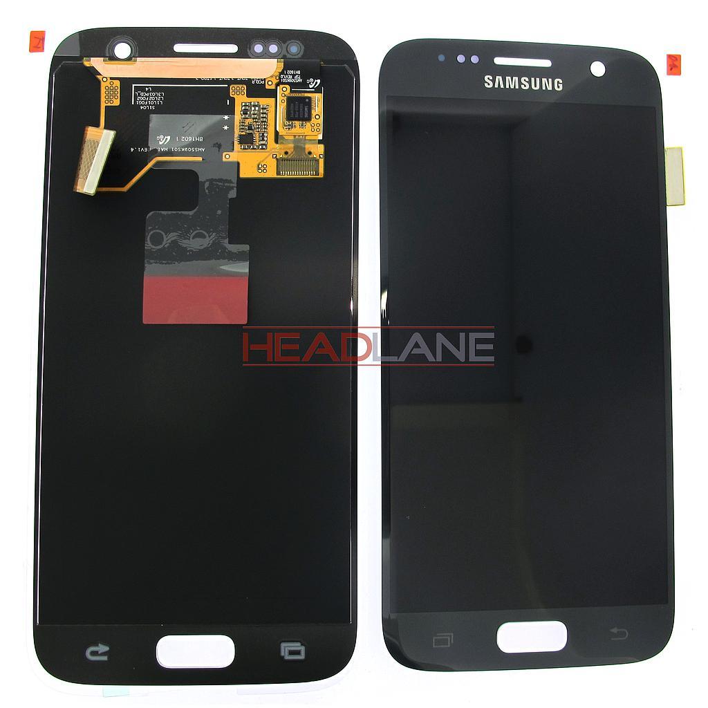 Samsung SM-G930F Galaxy S7 LCD Display / Screen + Touch - Black