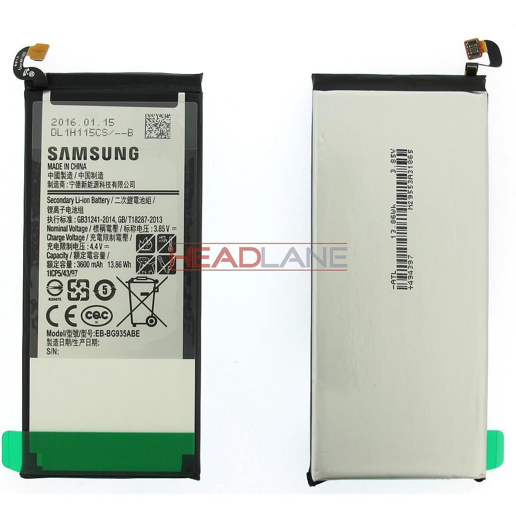 Samsung SM-G935F Galaxy S7 Edge 3600mAh Battery