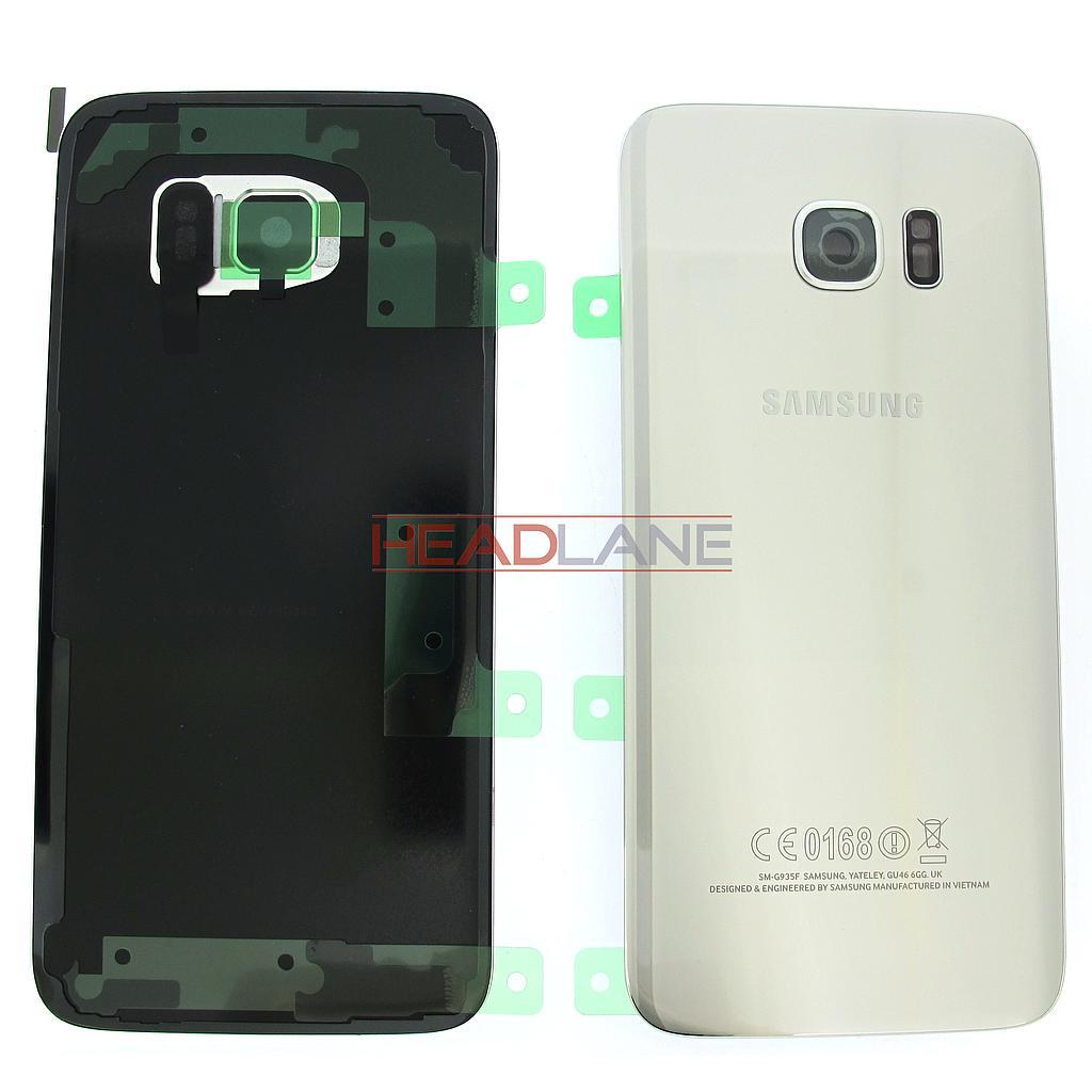 Samsung SM-G935F Galaxy S7 Edge Battery Cover - Silver