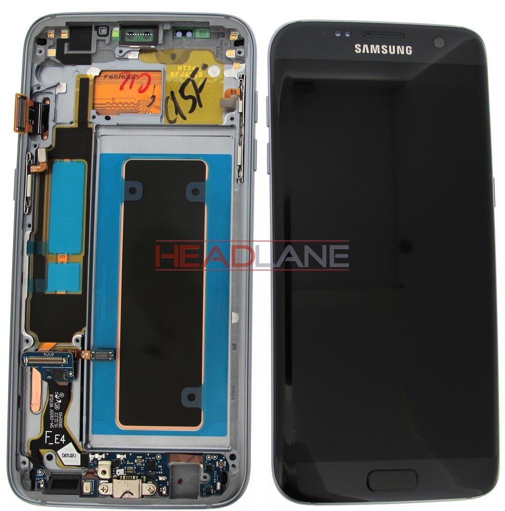Samsung SM-G935F Galaxy S7 Edge LCD Display / Screen + Touch - Black