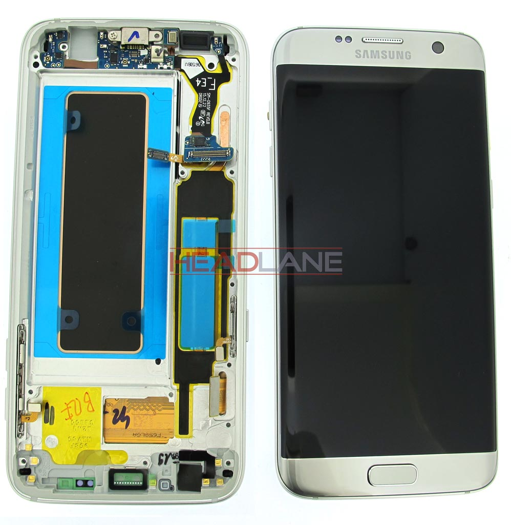 Samsung SM-G935F Galaxy S7 Edge LCD Display / Screen + Touch - Silver
