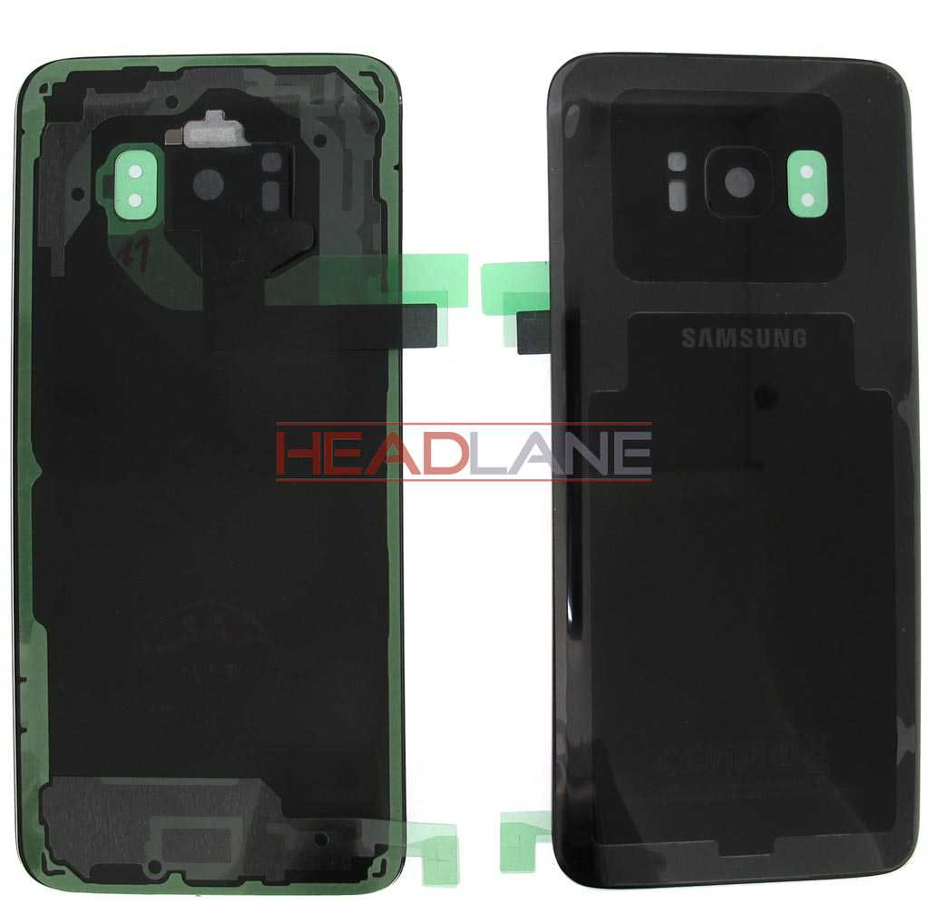 Samsung SM-G950 Galaxy S8 Battery Cover - Black