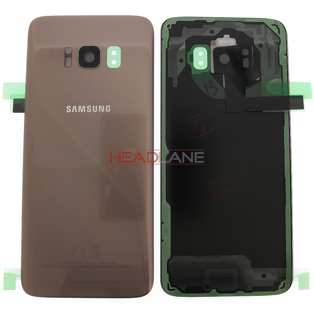Samsung SM-G950 Galaxy S8 Battery Cover - Gold