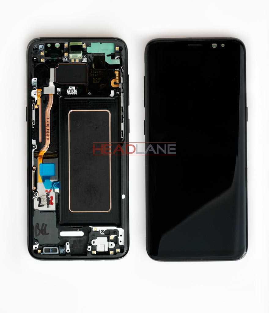 Samsung SM-G950 Galaxy S8 LCD Display / Screen + Touch - Black