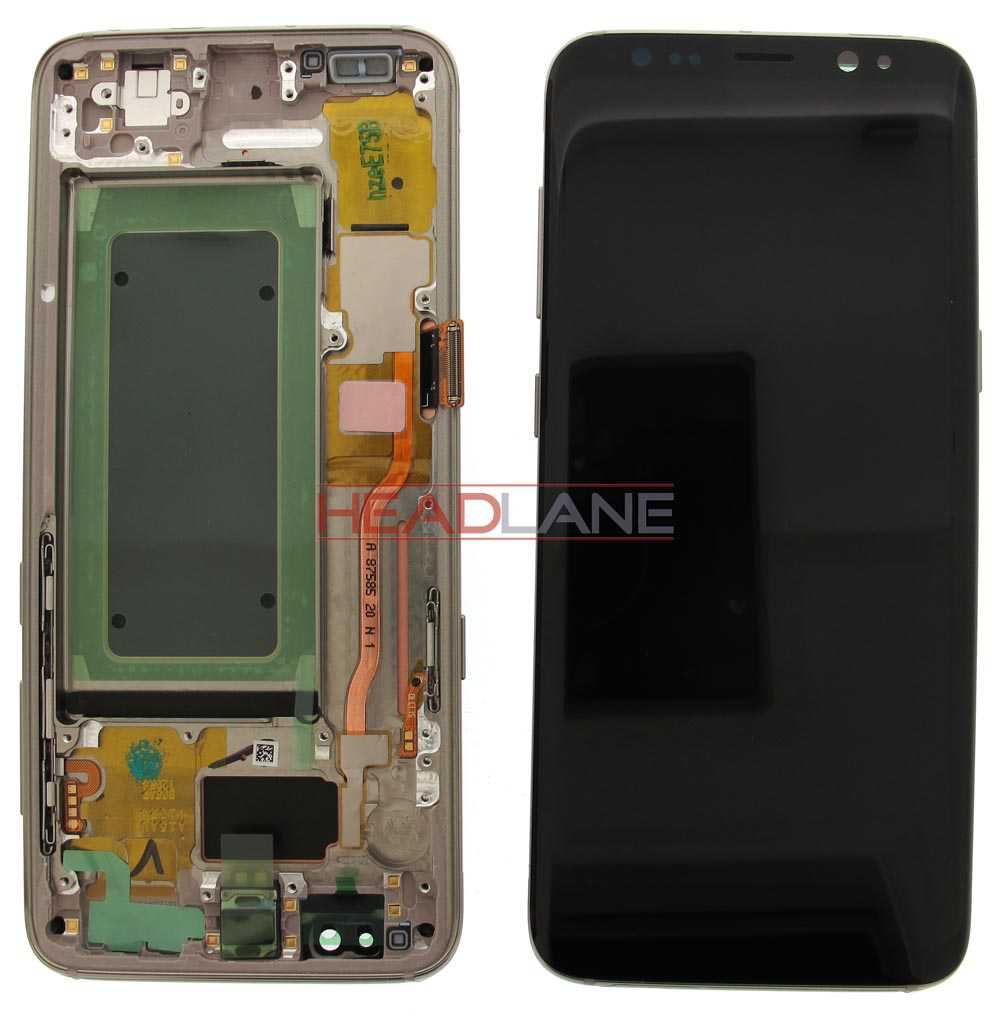 Samsung SM-G950 Galaxy S8 LCD Display / Screen + Touch - Gold