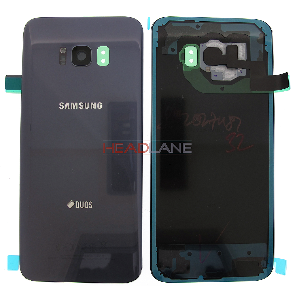 Samsung SM-G955FD Galaxy S8+ DUOS Battery Cover - Orchid Grey
