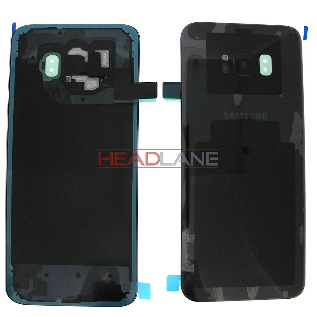 Samsung SM-G955 Galaxy S8+ Battery Cover - Black