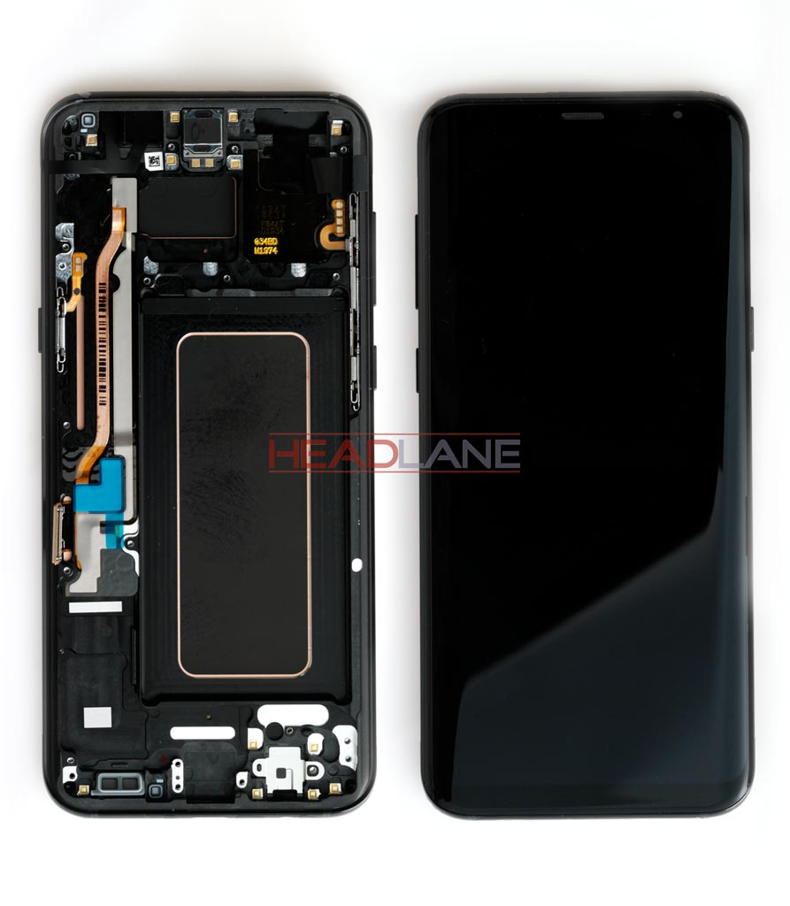 Samsung SM-G955 Galaxy S8+ LCD Display / Screen + Touch - Black