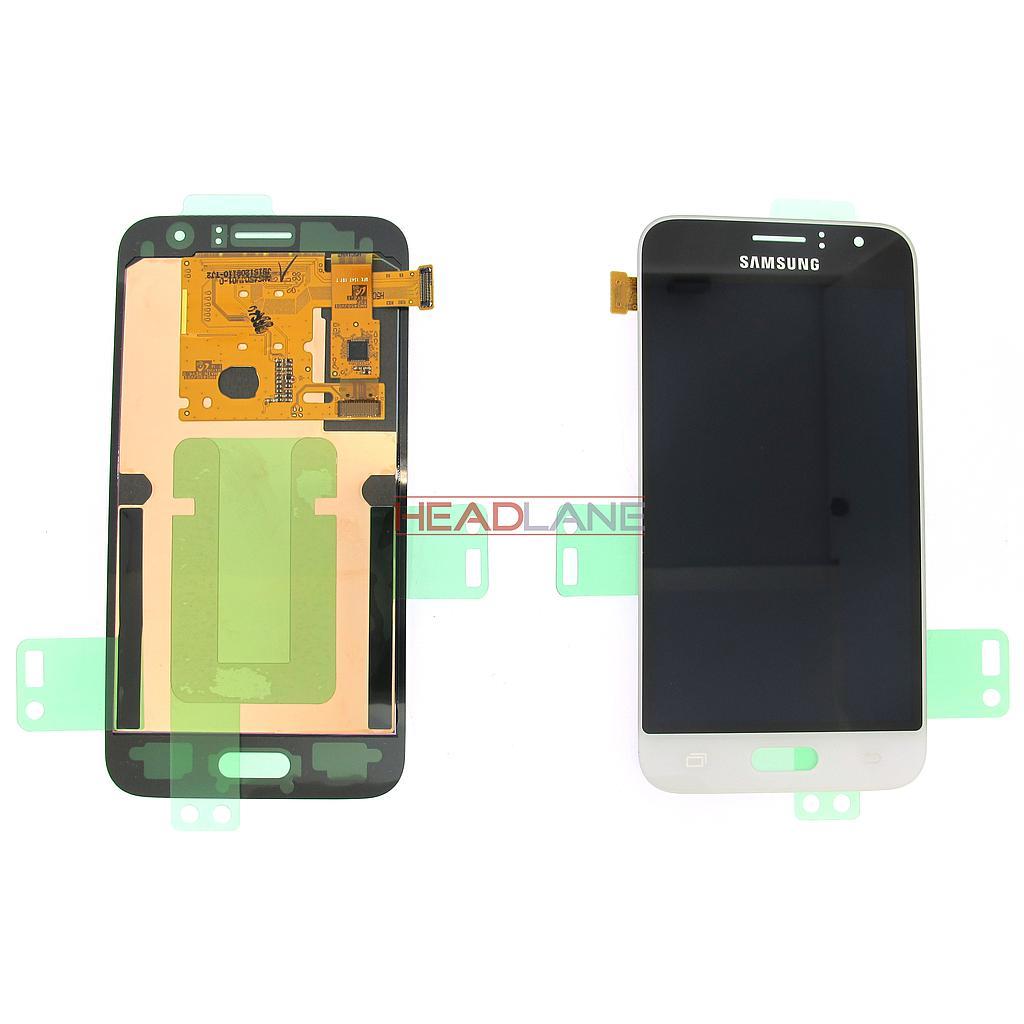 Samsung SM-J120 Galaxy J1 (2016) LCD Display / Screen + Touch - White