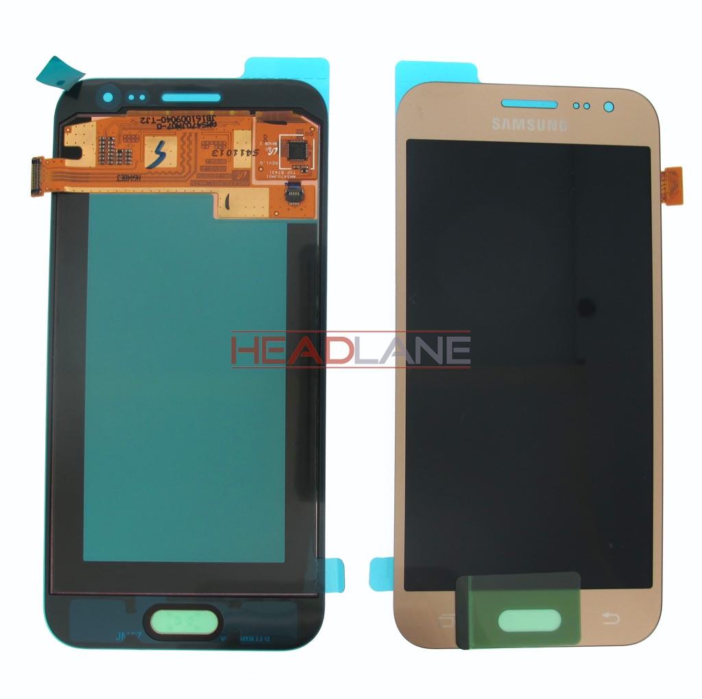 Samsung SM-J200 Galaxy J2 LCD Display / Screen + Touch - Gold