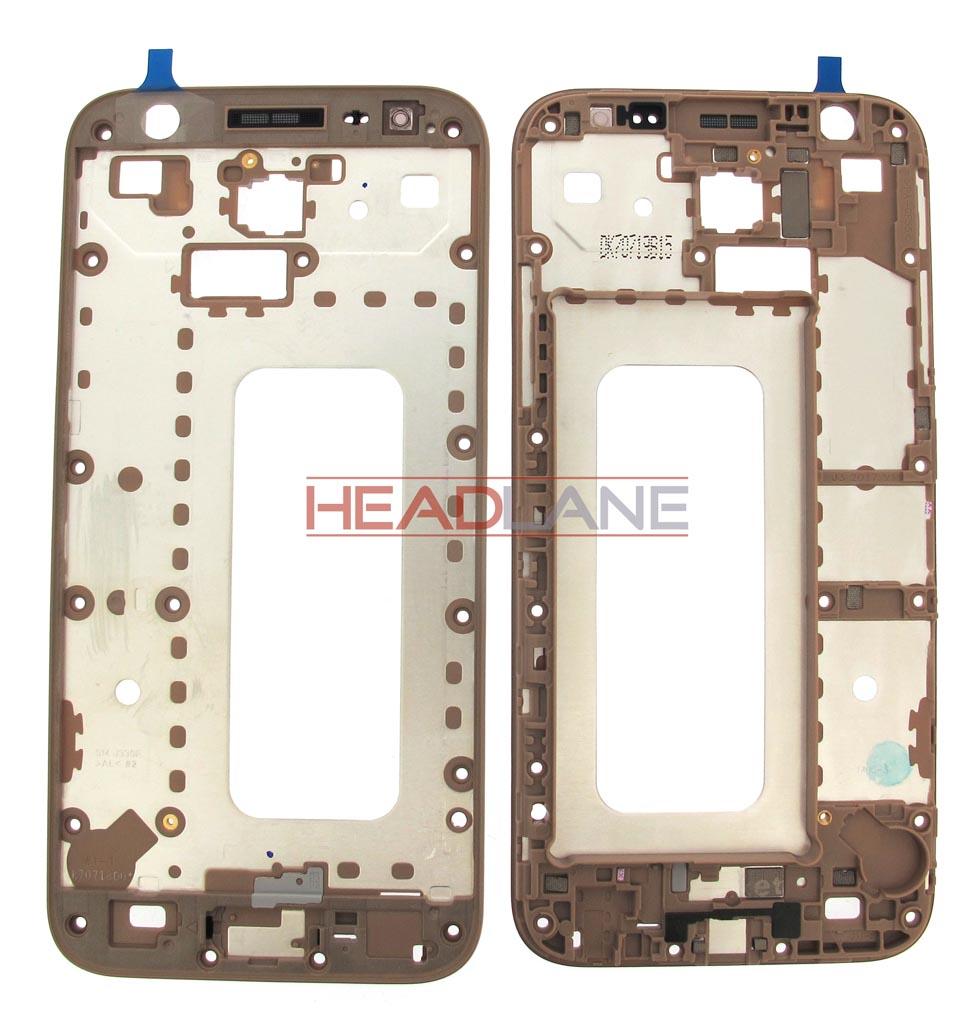 Samsung SM-J330 Galaxy J3 (2017) Front Case - Gold