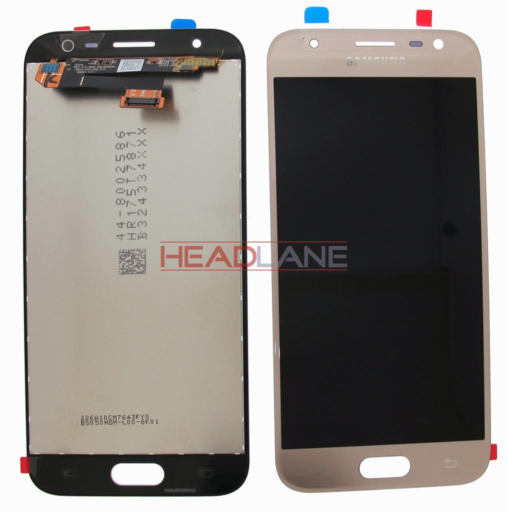 Samsung SM-J330 Galaxy J3 (2017) LCD Display / Screen + Touch - Gold