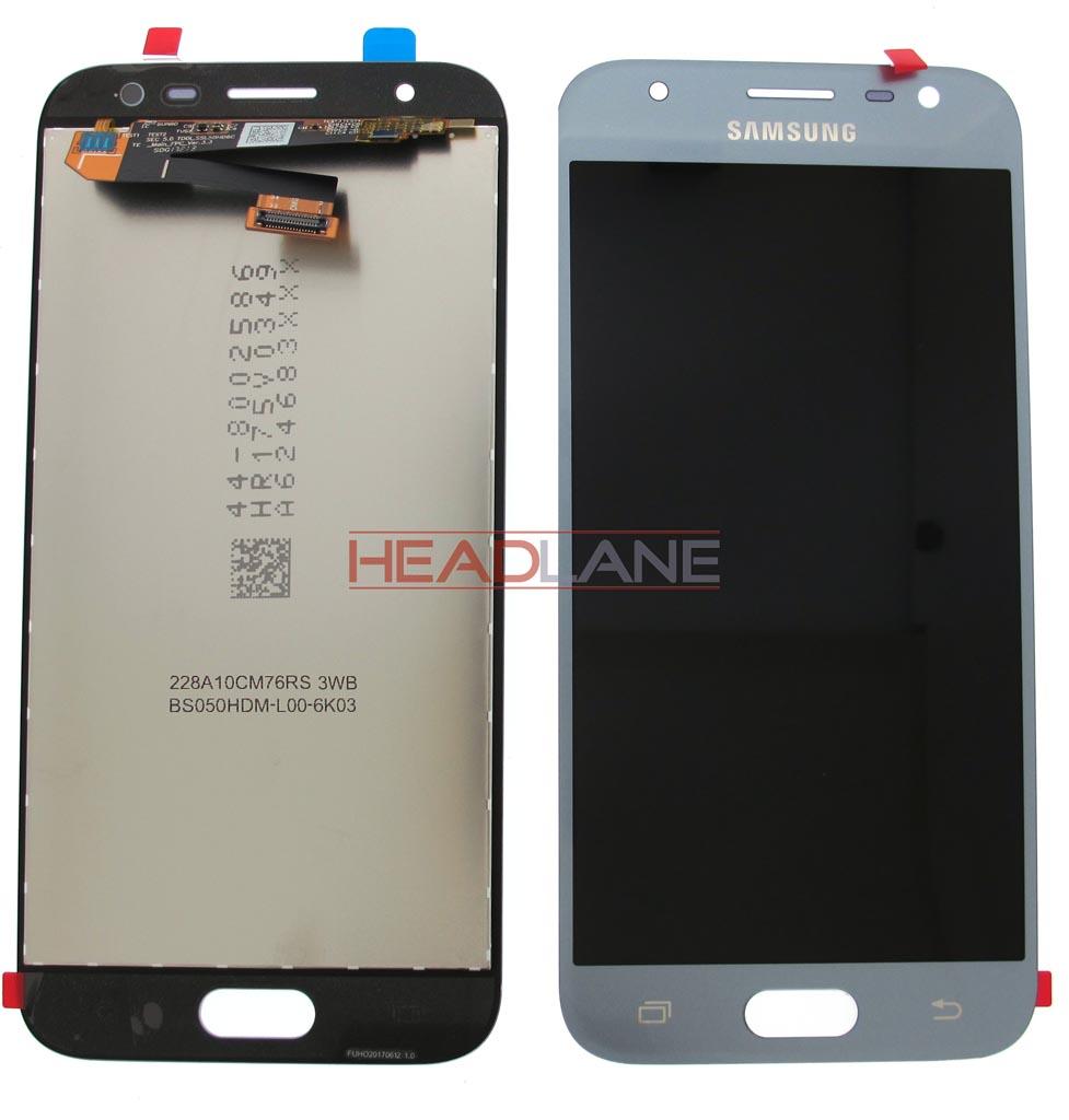 Samsung SM-J330 Galaxy J3 (2017) LCD Display / Screen + Touch - Silver