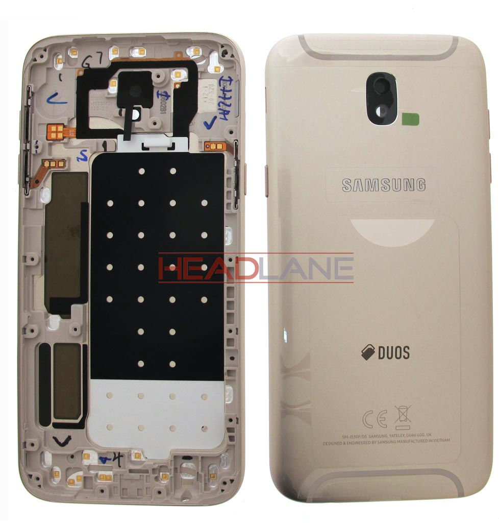Samsung SM-J530 Galaxy J5 (2017) Battery Cover - Gold