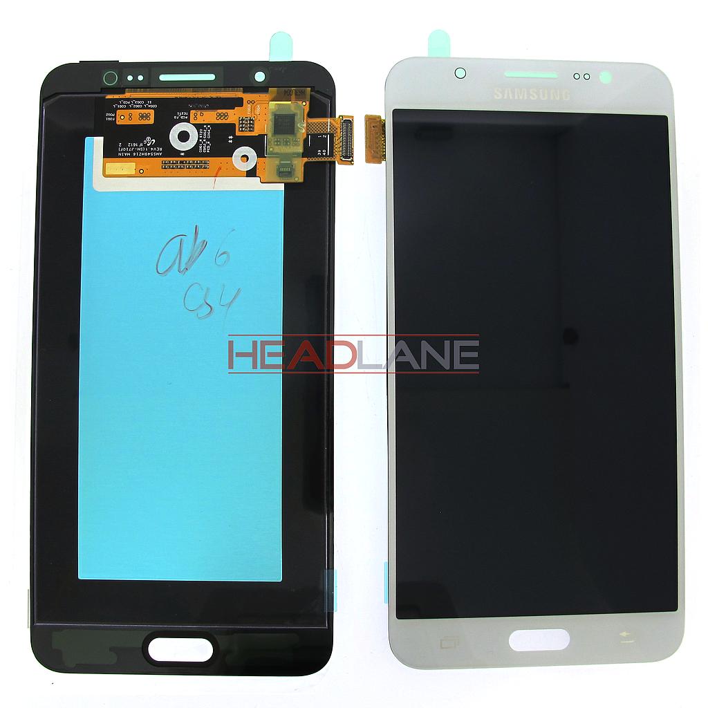 Samsung SM-J710 Galaxy J7 (2016) LCD Display / Screen + Touch - White