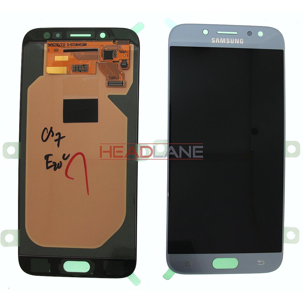 Samsung SM-J730 Galaxy J7 (2017) LCD Display / Screen + Touch - Silver